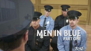 Andrew Stark & Connor Kline in Men in Blue Part 1