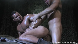 Angelo Marconi and Jessy Ares in Militia