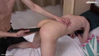 Twink Gets Hole Stretched with Toys