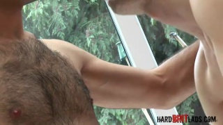 Thick Dicked Hairy Footballer Fucks Hot Smooth Muscle Lad