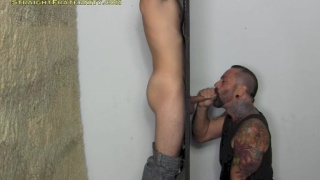 Toby at the Glory Hole
