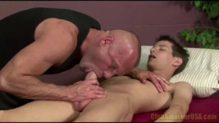 Mike King Massaged and Blown
