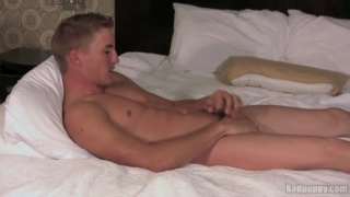 Noah Thomas Stroking his Cock