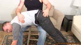 Mark Spanked By Scott - Clip 1