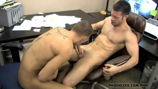 Tristan Jaxx Gets Oral Sex