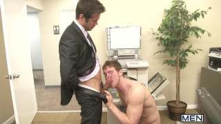 Mike De Marko and Connor Maguire in Office Slut Part 3