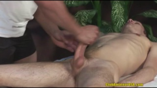 Tristan Sterling Gets Handjob