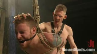 Dock Worker Fucked by Leather Dom