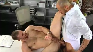 ass-hungry Madison fucks his boss