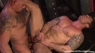 Caleb Colton and Mitchell Rock in Cock Tease