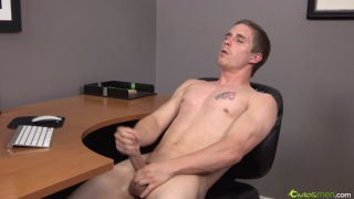 Christian Jacks his Big Dick