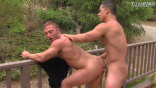 Topher DiMaggio and bubble-butted JR Bronson