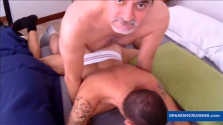 Older Italian bottom fucked by Chris Marsan