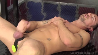 Tattooed and muscular Marco Sessions