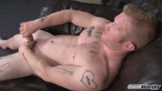 Redhead muscle guy Perry