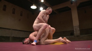 Jimmy Bullet vs Billy Santoro Naked Wrestling