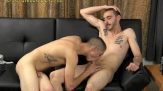Kae and Diesel's gay for pay suck