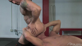 Jimmy Durano & Mike Anders in Musclebound