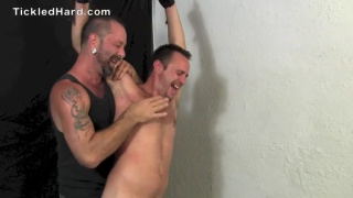 straight guy stripped and tickled