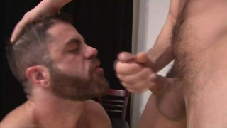 two eager cocksuckers get together
