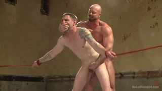 Jay Rising vs Mitch Vaughn nude wrestling