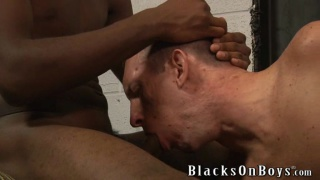 Brian Walker takes a big black cock