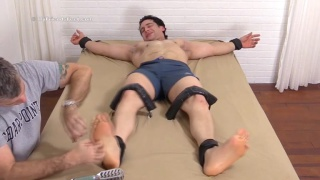Yoel Strapped Down and Tickled