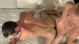 Parker Lewis and Brandon Atkins bareback in Asheville