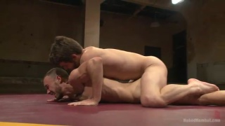 Kirk Cummings and Duncan Black Naked Wrestling