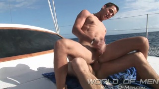 Kyle Price and Nathan Cox at world of men