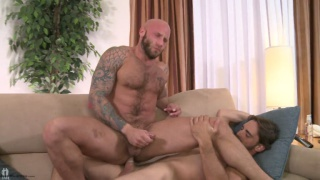Joe Parker and Drake Jaden get together for horny romp