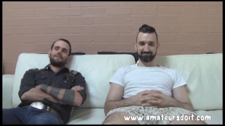 Rocco and Lucas first time gay sex