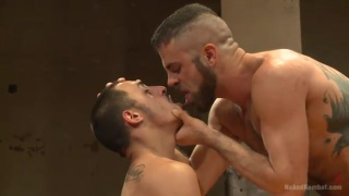 Rico Romero and Marcus Isaacs Naked Wrestling