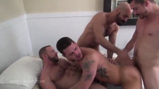 tate ryder takes 2 big cocks in goodbye fuck