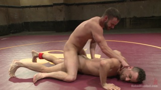 Leon Fox vs Chris Bines Naked Wrestling