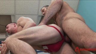 Scott Hunter fucked by rough guy Spencer Reed