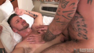 Ray Dalton bare fucks Christian Matthews