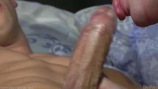 Kris Evans and Marcel Gassion bare fuck