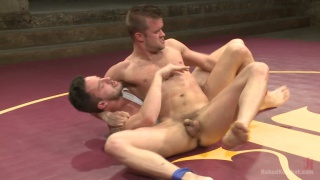 Isaac Hardy vs Connor Patricks Naked Wrestling