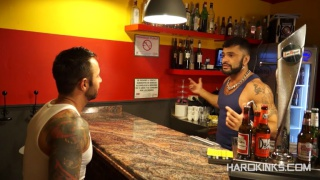 ROGAN RICHARDS and MARTIN MAZZA in king size