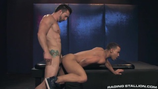 Jimmy Durano and Trelino at raging stallion