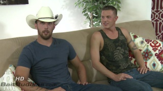 Dustin Steele and Cody Avalon at bait buddies