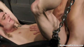 Nick Cums and Gets His Man
