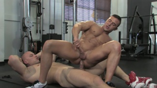 Angelo & JR Bronson in Musclebound