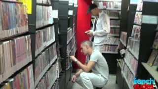 Hooking up in the video store