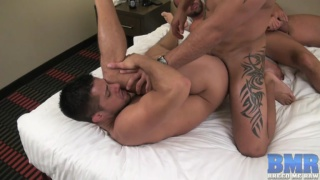Tyler Reed, Orlando Ink and Dylan Saunders