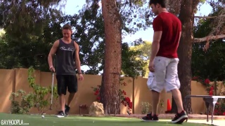 Jaden Storm & Jason Keys at gay hoopla