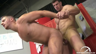 Logan Vaughn & Zeb Atlas in Worshipping Zeb