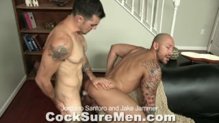 Jordano Santoro and Jake Jammer fuck