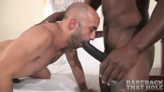 Cutler X and Igor Lucas at bareback that hole